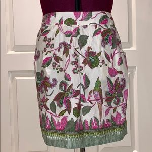 Anthropologie edme & esyllte poinciana skirt